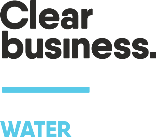 clear business water logo